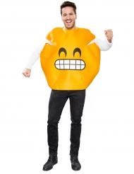 Kostüm Emoticon Zungenblecker für Erwachsene