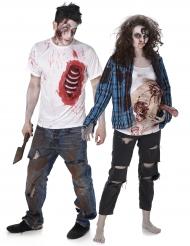 2 Paar T-Shirts Zombie - Trash