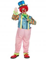 Rosa Clown-Kostüm für Erwachsene