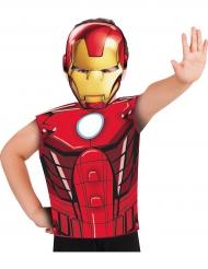 Iron Man™ T-Shirt und Maske für Kinder