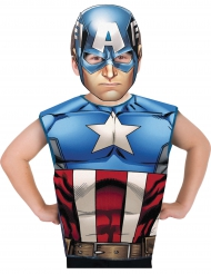 Captain America™ T-Shirt mit Maske