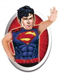 Superman™ T-Shirt und Maske für Kinder bunt