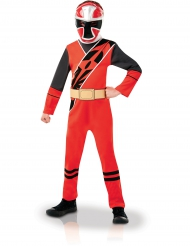 Power Rangers™ Kostüm Ninja Steel rot für Kinder