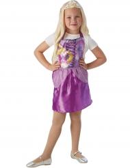 Kleid mit Tiara Rapunzel™ für Kinder