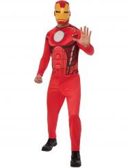Iron Man™ Lizenzkostüm für Herren rot-gelb