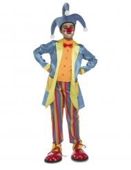 Zirkus Clownkostüm für Jungen Kinderkostüm bunt