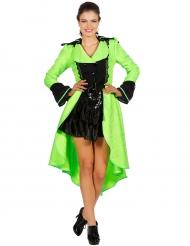 Barock-Mantel für Erwachsene neongrün