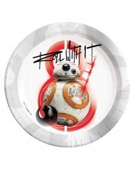 8 Teller BB Star Wars Die letzten Jedi™ 23 cm