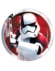 8 kleine Teller Star Wars Die letzten Jedi™ 20 cm