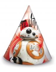 6 Partyhüte Star Wars 8 Die letzten Jedi™