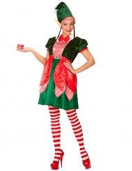 Kostüm Weihnachtswichtel für Damen