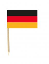 50 Mini Flaggen Deutschland 3x5 cm