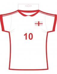 Wanddeko Trikot England 31 cm x 33 cm