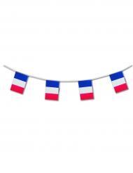 Frankreich-Wimpelgirlande blau-weiss-rot 5m