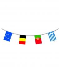 Europa Girlande aus Kunststoff 10m