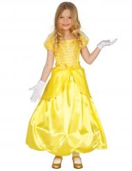 Bezaubernde Prinzessin-Kostüm für Mädchen gelb