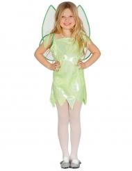 Feen-Kostüm für Mädchen Elfe grün