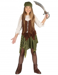 Gestreiftes Piratenkostüm für Kinder