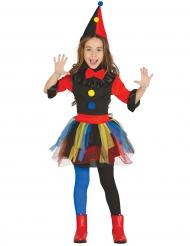 Freches-Clownkostüm für Kinder Zirkus bunt