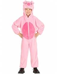 Schwein-Kostüm für Kinder Tierkostüm pink-rosa