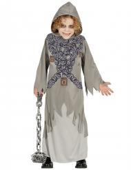 Schauriges Henker-Kostüm Sensenmann für Kinder grau