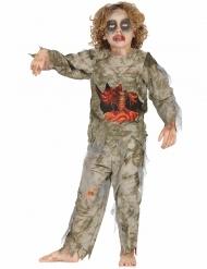 Halloween Zombiekostüm Moor-Monster für Jungen