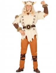 Wikinger Kostüm beige für Herren