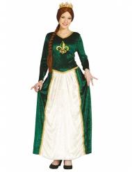 Mittelalter - Kostüm grün für Damen