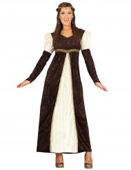 Mittelalterliche Prinzessnin Kostüm für Damen