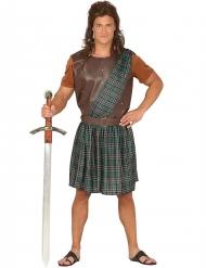 Schottenkostüm grün für Herren