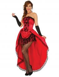 Kostüm in Rot für Damen