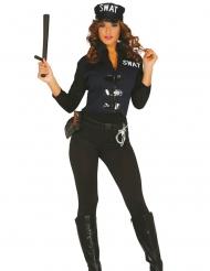 Sexy SWAT Kostüm für Damen