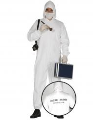 Spurensicherer Kostüm für Erwachsene