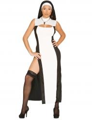 Nonnenkostüm sexy für Damen