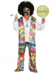 Hippie Kostüm für Erwachsene
