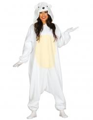 Eisbären Anzug für Erwachsene