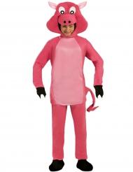 Kostüm dickes Schweinchen für Erwachsene