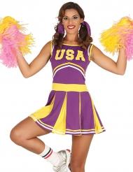 Cheerleader Kostüm für Damen
