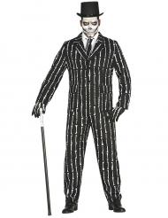 Anzug Skelett für Herren