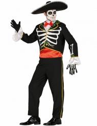Kostüm Mariachi Skelett Dia de los muertos für Herren