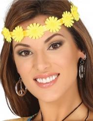 Stirnband mit gelben Blumen für Erwachsene