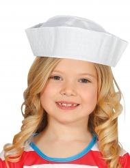 Matrosen-Hut für Kinder weiß