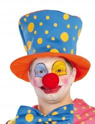 Clowns-Hut mit Punkten für Erwachsene