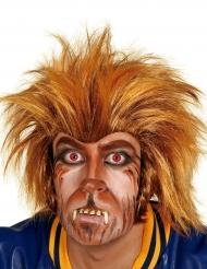 Werwolf-Maske für Erwachsene Halloween braun