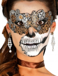 Steampunk Zahnrad Augenmaske für Erwachsene