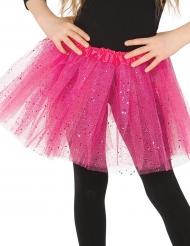 Glitzernder Petticoat für Mädchen pink