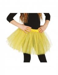 Glitzer-Tutu für Mädchen neongrün