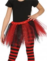 Tütü rot und schwarz für Mädchen