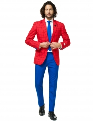 Mr. Spider-Man Herrenanzug Opposuits™ blau-rot