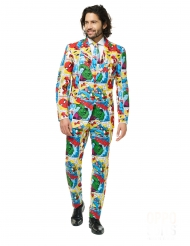 Mr. Marvel™-Comic Opposuits™ Herrenkostüm bunt